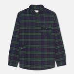 Мужская рубашка Garbstore Fall Blue/Green фото- 0