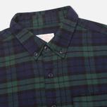 Мужская рубашка Garbstore Fall Blue/Green фото- 1