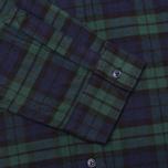 Мужская рубашка Garbstore Fall Blue/Green фото- 3