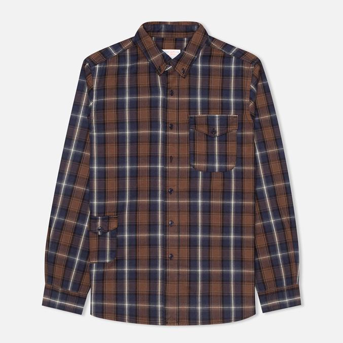 Garbstore Fall Men's Shirt Brown