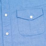 Мужская рубашка Garbstore Fall Navy фото- 2