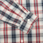 Мужская рубашка Levi's One Pocket Navy/Red Plaid фото- 3