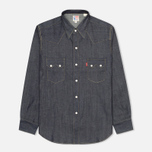 Мужская рубашка Levi's Vintage Clothing 1955 Sawtooth Denim Rigid фото- 0