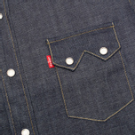 Мужская рубашка Levi's Vintage Clothing 1955 Sawtooth Denim Rigid фото- 3