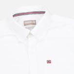Napapijri Gordon A Men's Shirt White photo- 1