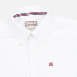 Мужская рубашка Napapijri Gordon A White фото- 1