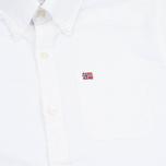Napapijri Gordon A Men's Shirt White photo- 2