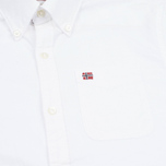 Мужская рубашка Napapijri Gordon A White фото- 2