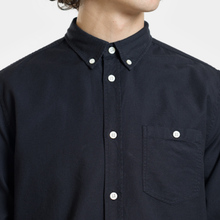 Мужская рубашка Norse Projects Anton Oxford Dark Navy фото- 2