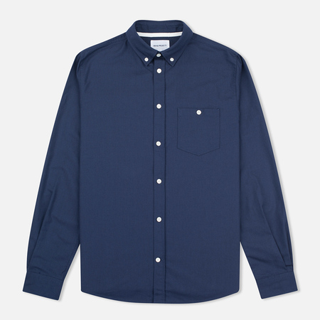 Мужская рубашка Norse Projects Anton Oxford Dark Navy