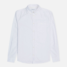Мужская рубашка Norse Projects Anton Oxford White фото- 0