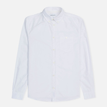 Мужская рубашка Norse Projects Anton Oxford White фото- 0