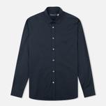 Мужская рубашка Pringle of Scotland Slim Fit Black фото- 0
