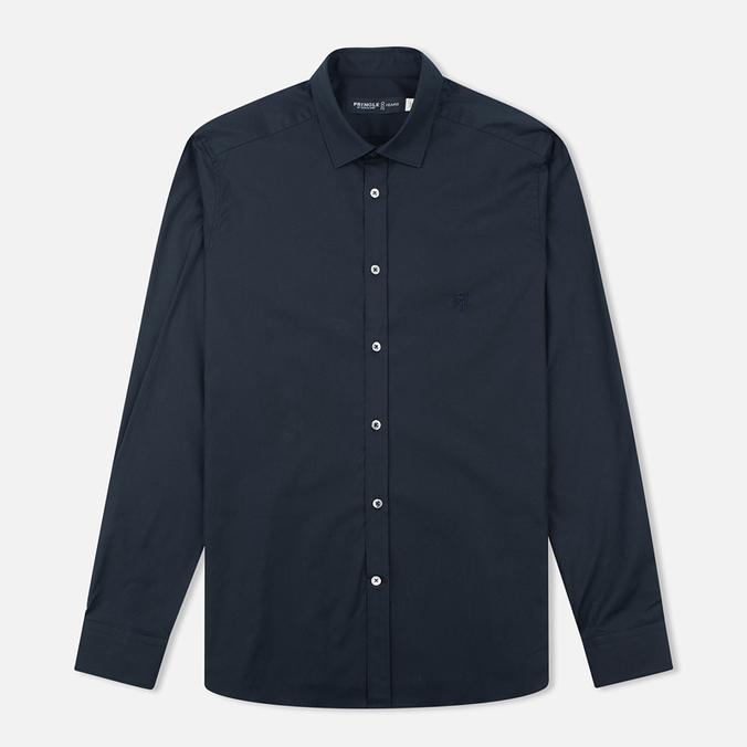 Мужская рубашка Pringle of Scotland Slim Fit Black