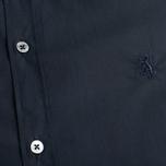 Мужская рубашка Pringle of Scotland Slim Fit Black фото- 2