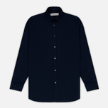 Мужская рубашка Pringle of Scotland Slim Fit Navy фото- 0