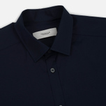 Мужская рубашка Pringle of Scotland Slim Fit Navy фото- 1