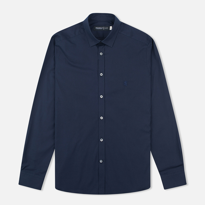 Мужская рубашка Pringle of Scotland Slim Fit Navy