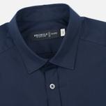 Мужская рубашка Pringle of Scotland Slim Fit Navy фото- 1
