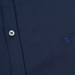 Мужская рубашка Pringle of Scotland Slim Fit Navy фото- 2