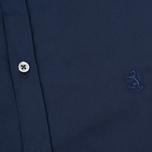 Pringle of Scotland Slim Fit Men's shirt Navy photo- 2