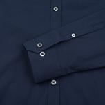 Pringle of Scotland Slim Fit Men's shirt Navy photo- 3