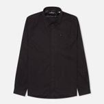 Мужская рубашка Stone Island Shadow Project L/S Black фото- 0
