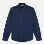 Velour Common Brushed Oxford Men's Shirt Navy/Navy photo- 0