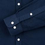Velour Common Brushed Oxford Men's Shirt Navy/Navy photo- 2