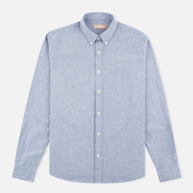 Мужская рубашка Velour Common Brushed Oxford Navy/Off White