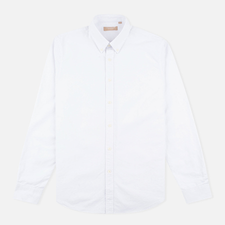 Мужская рубашка Velour Common Brushed Oxford White