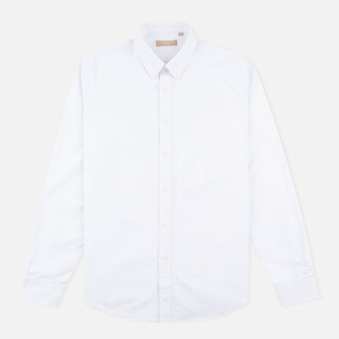 Velour Common Brushed Oxford Men's Shirt White