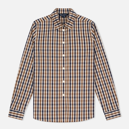 Aquascutum Bowten Women's Shirt Club Check Vicuna