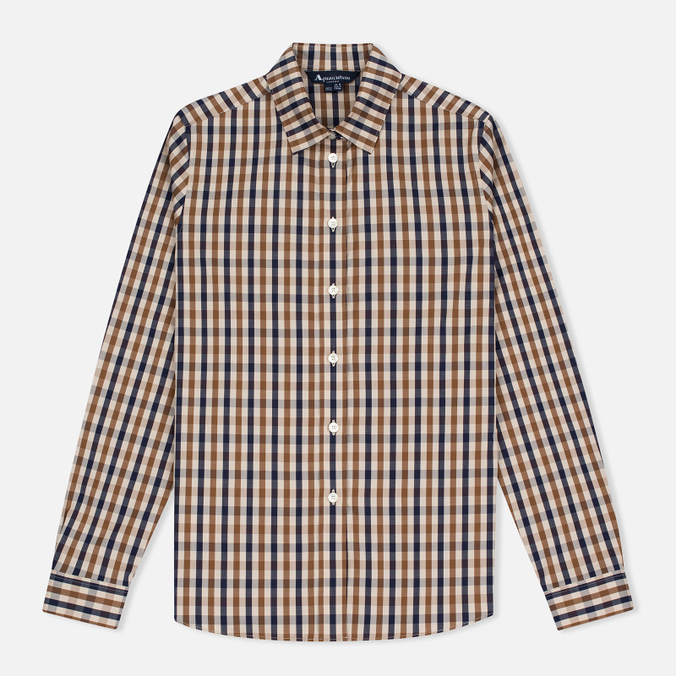 Женская рубашка Aquascutum Bowten Club Check Vicuna