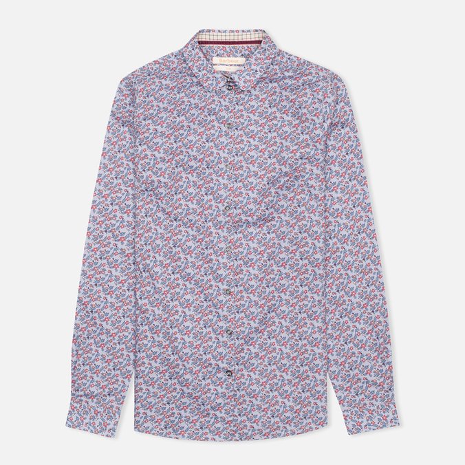 Женская рубашка Barbour Badminton Shirt Ditsy Blue Print
