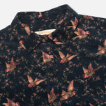 Женская рубашка Barbour Fell Cord Navy Bird Print фото- 1
