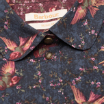 Brabour Fell Women's Shirt Navy Bird Print photo- 2