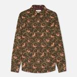 Женская рубашка Barbour Fell Olive Bird Print фото- 0