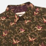 Женская рубашка Barbour Fell Olive Bird Print фото- 1