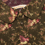 Женская рубашка Barbour Fell Olive Bird Print фото- 2