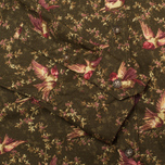 Женская рубашка Barbour Fell Olive Bird Print фото- 3
