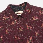 Женская рубашка Barbour Fell Wine Bird Print фото- 1