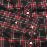 Fred Perry Laurel Button Down Tartan Women's Shirt Black photo- 3