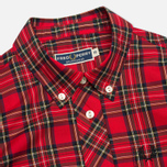Женская рубашка Fred Perry Button Down Tartan Red фото- 1
