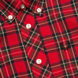 Женская рубашка Fred Perry Button Down Tartan Red фото- 2