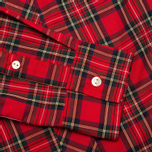 Женская рубашка Fred Perry Button Down Tartan Red фото- 3