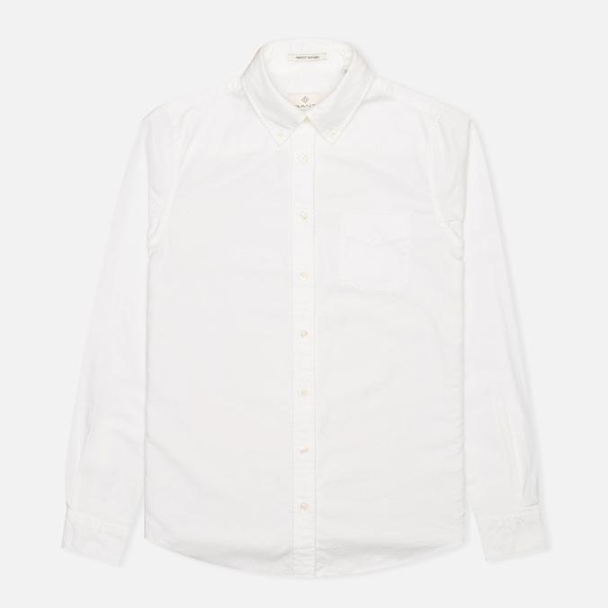 Женская рубашка Gant Diamond G Perfect Oxford White