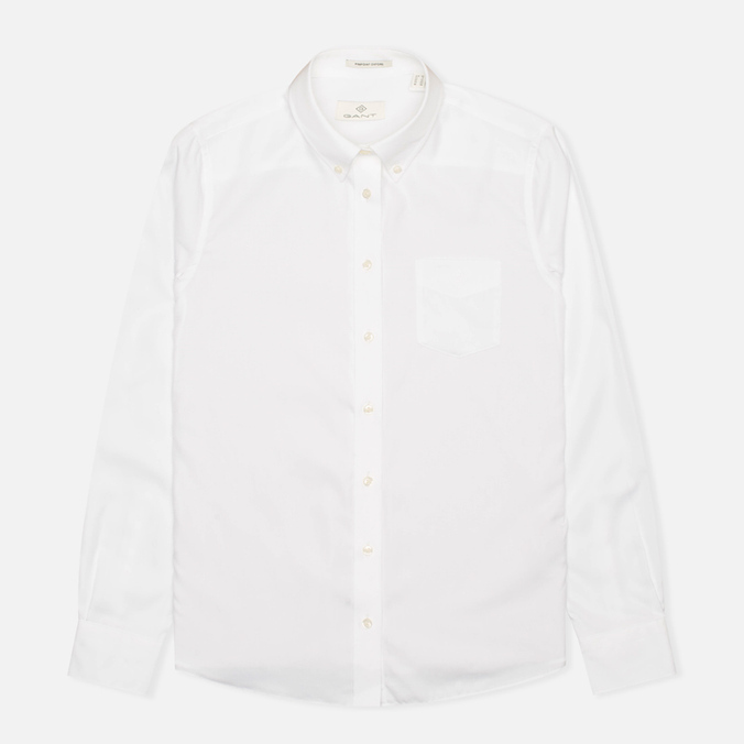 Женская рубашка Gant Diamond G Pin Point Oxford White