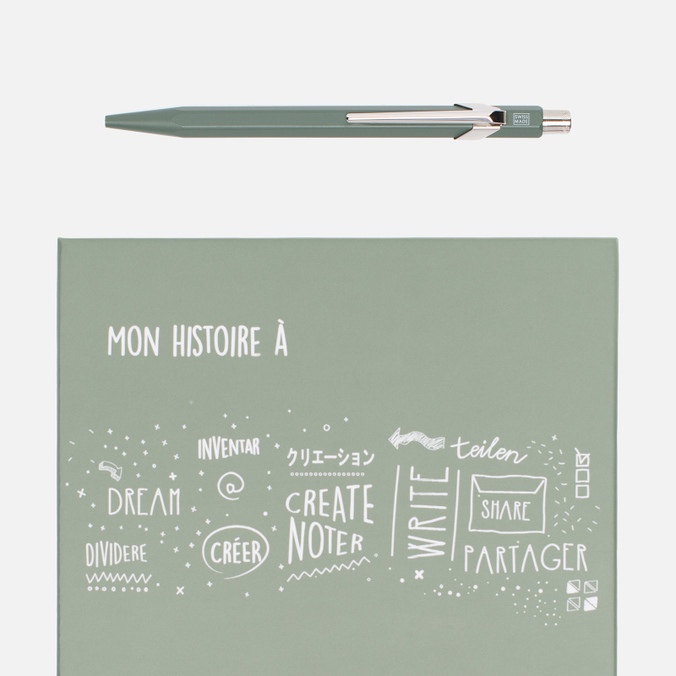 Ручка Caran d'Ache 849 Office Christmass 2016 Olive/Black
