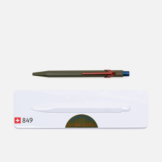 Ручка Caran d'Ache 849 Office Claim Your Style Green